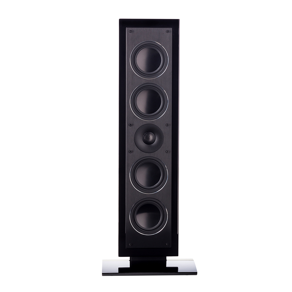 Paradigm Millenia LP2 Low Profile Speaker (Black) - Front