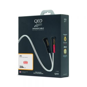 QED XTUBE XTC Terminated Speaker Cable - 2m