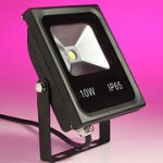 LED floodlight – new slim designs
