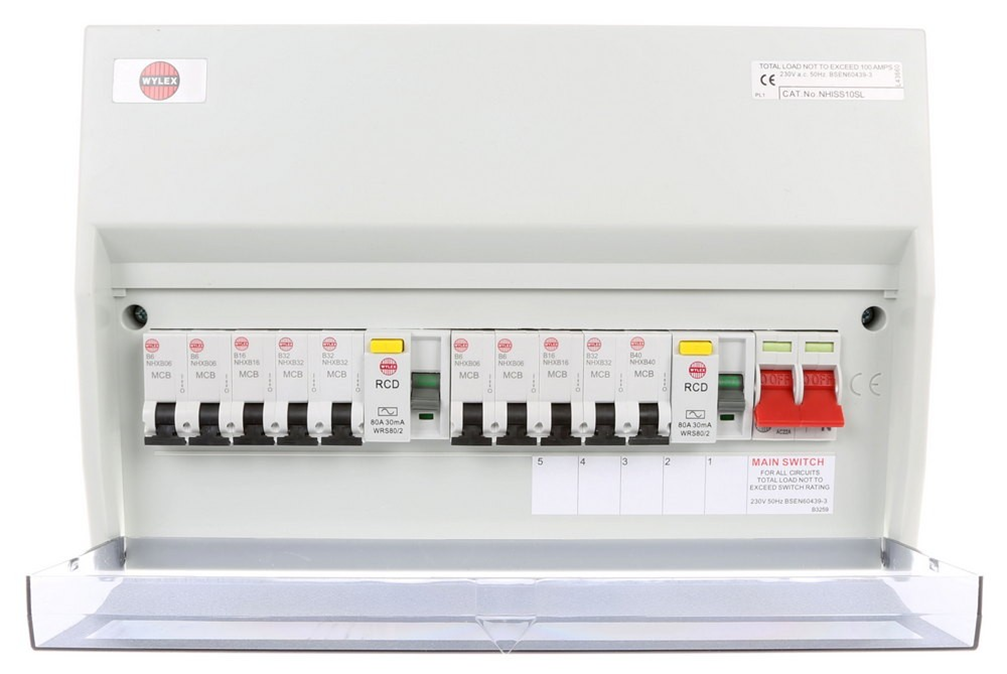 Wylex 10 way board1 does your mains distribution board look something like this