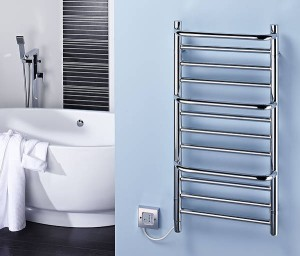 Dimplex towel rail