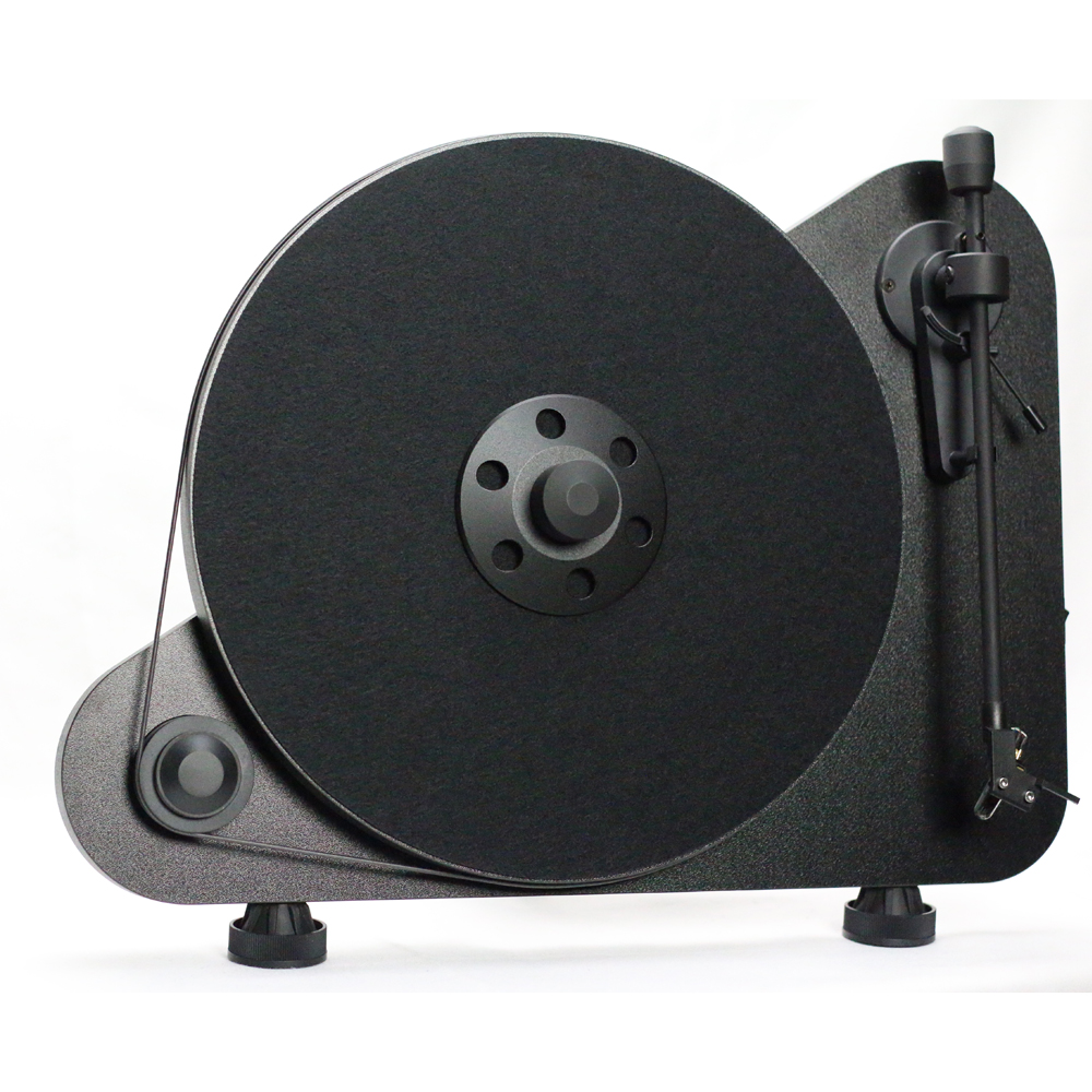 Pro-Ject VT-E Vertical Turntable (Black) - Front