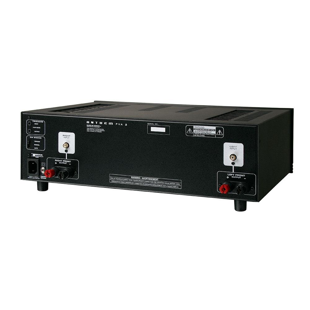 anthem pva2 2 channel power amplifier norvett electronics. Black Bedroom Furniture Sets. Home Design Ideas