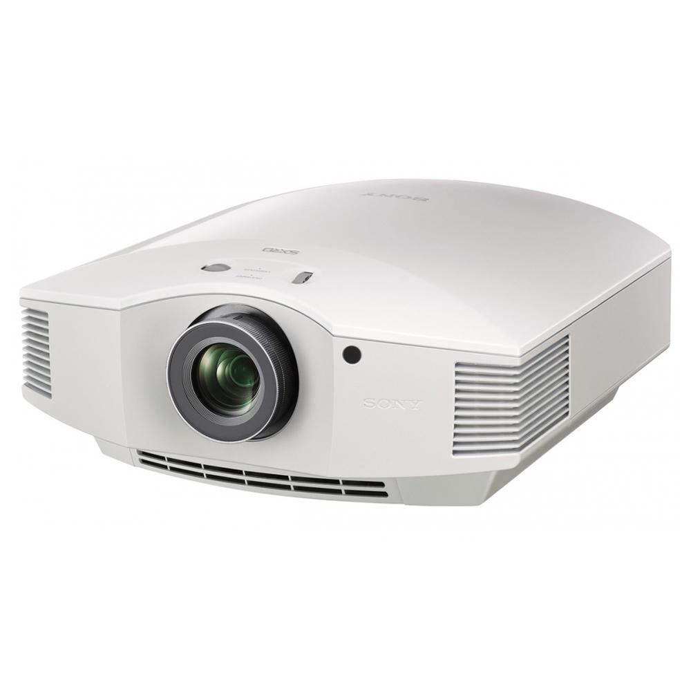 Sony VPL-HW45ES (White) - Angled