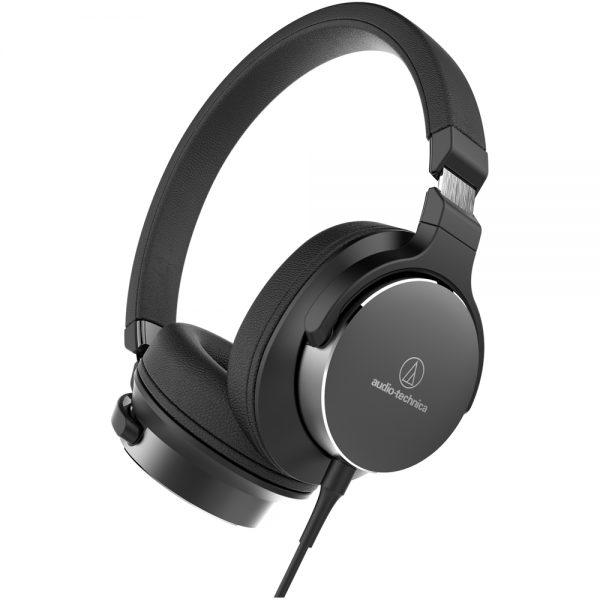 Audio-Technica ATH-SR5 (Black) - Angled