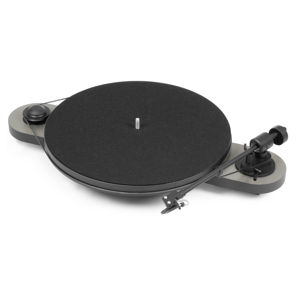 Pro-Ject Elemental Phono USB Turntable (Silver)