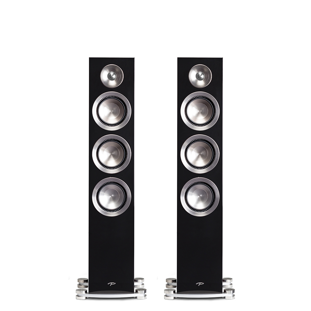 made floor standing speaker with driver by coincident custom speakers spanaudio
