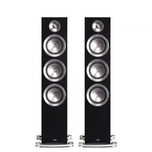 Paradigm 85F Floorstanding Speakers (Piano Black) - Front