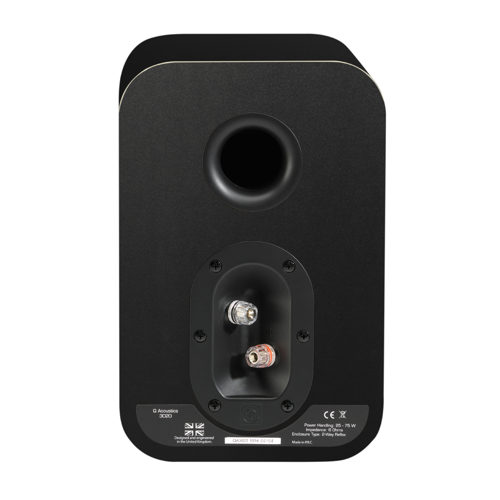 Q Acoustics 3020 Bookshelf Speakers Norvett Electronics