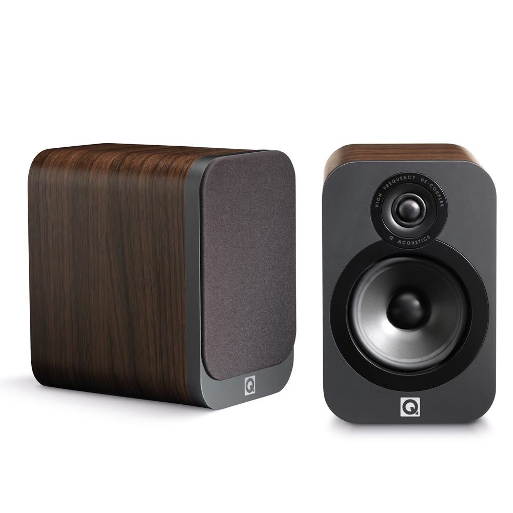 Q Acoustics 3020#Bookshelf Speakers