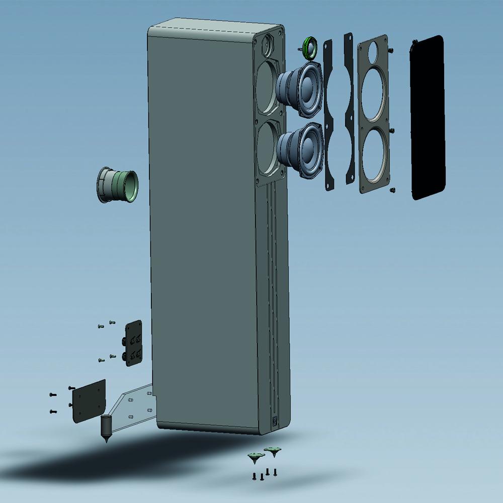 Q Acoustics Concept 40 Floorstanding Speakers - Norvett Electronics