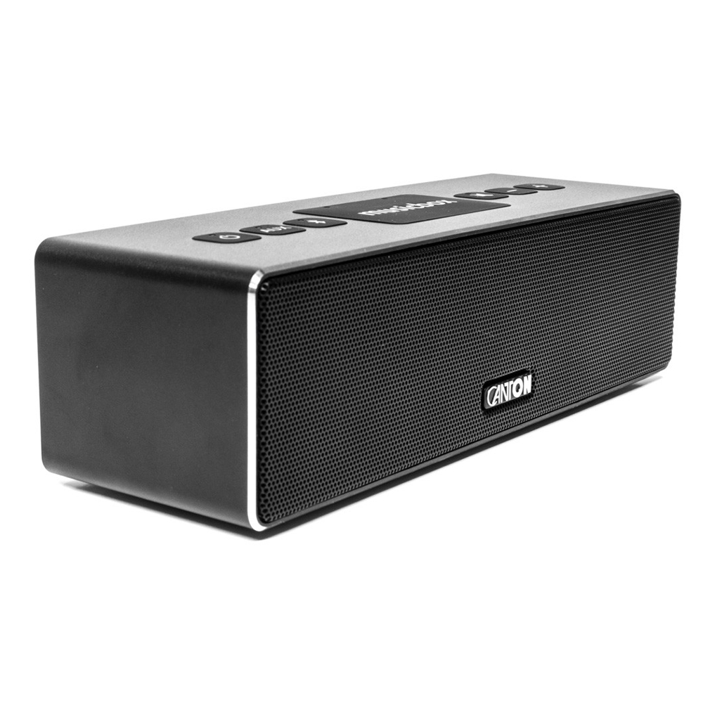 Canton musicbox XS (Black) - Angled