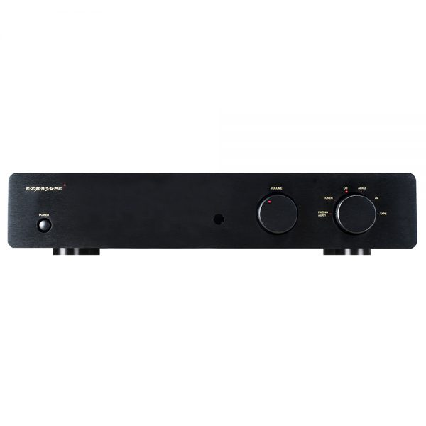 Exposure 2010SE Integrated Amplifier (Black) - Front