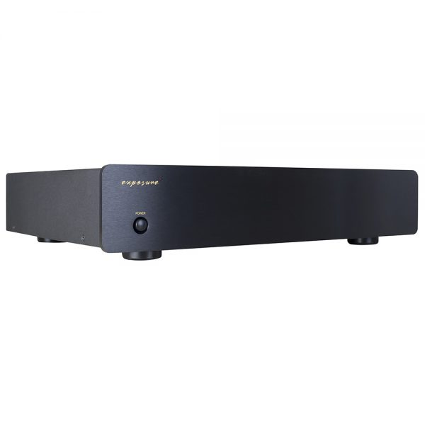 Exposure 2010SE Power Amplifier (Black) - Right Angled