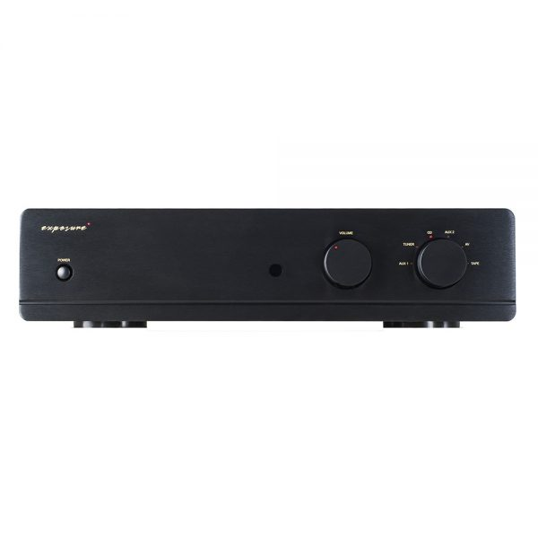 Exposure 3010S2 Integrated Amplifier (Black) - Front