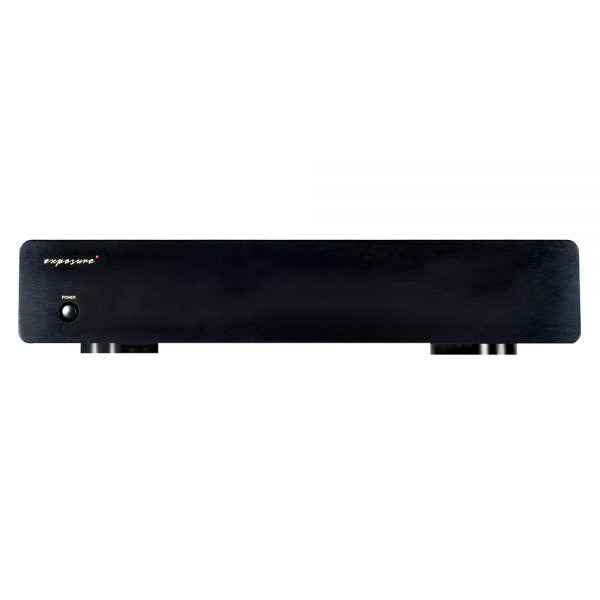 Exposure 3010S2D Phono Amplifier (Black) - Front