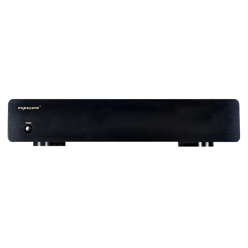 Exposure 3010S2D Phono Amplifier (Black) - Front