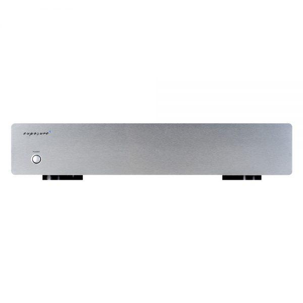 Exposure 3010S2D Phono Amplifier (Titanium) - Front