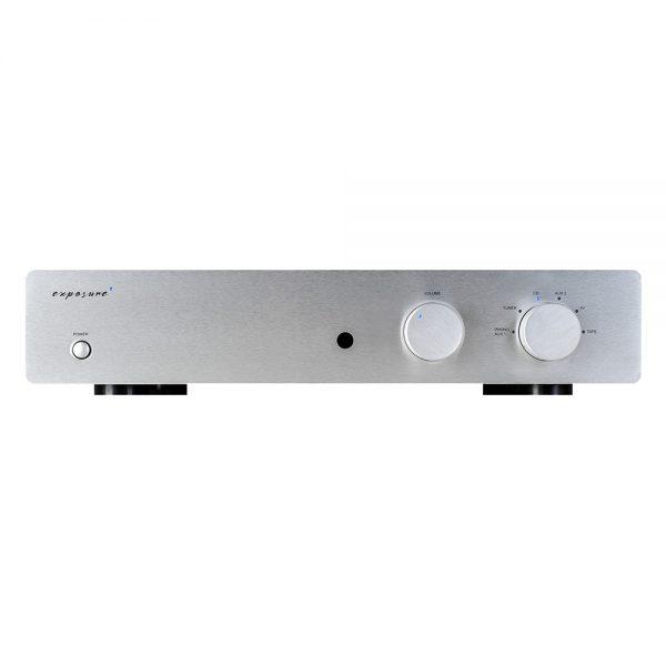 Exposure 3010S2D Pre Amplifier (Titanium) - Front