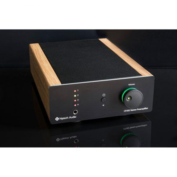 Nytech Audio CP202 (Light Oak) - Angled