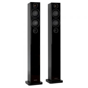 Monitor Audio Radius 270 (High Gloss Black) - Angled