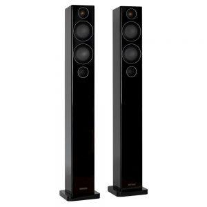 Monitor Audio Radius 270 (High Gloss Black) - Angled
