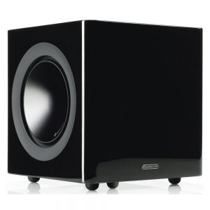 Monitor Audio Radius 380 (High Gloss Black) - Angled