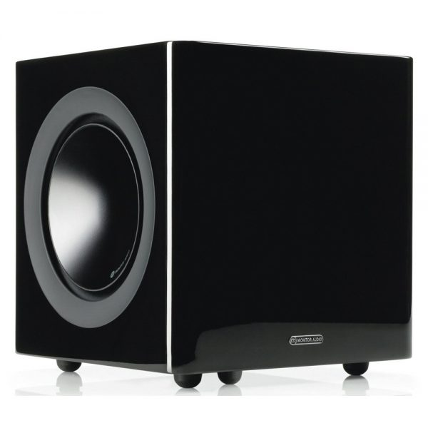 Monitor Audio Radius 380 (High Gloss Black) - Angled