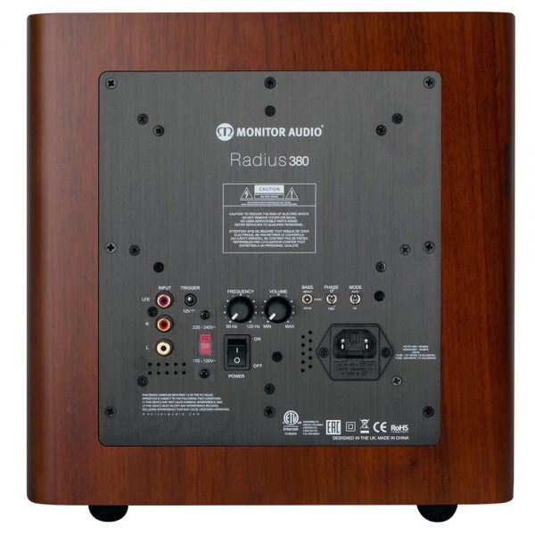 Monitor Audio Radius 380 (Walnut) - Back