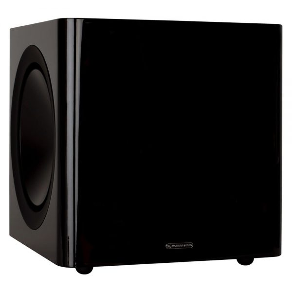 Monitor Audio Radius 390 (High Gloss Black) - Angled