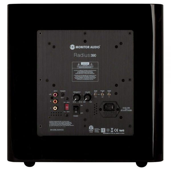 Monitor Audio Radius 390 (High Gloss White) - Front