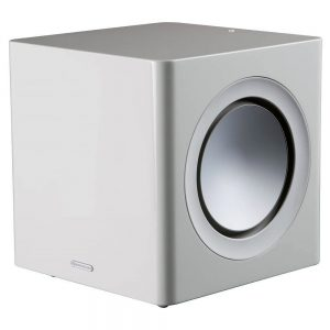 Monitor Audio Radius 390 (High Gloss White) - Angled