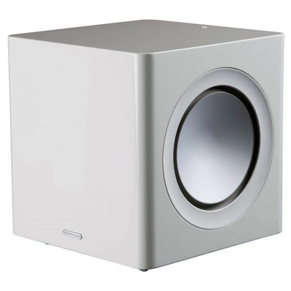 Monitor Audio Radius 390 (High Gloss White) - Angled