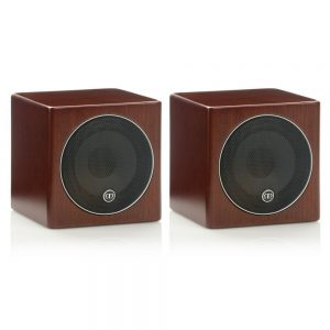 Monitor Audio Radius 45 (Walnut) - Angled