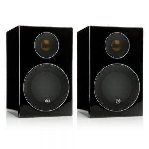 Monitor Audio Radius 90 (High Gloss Black) - Angled