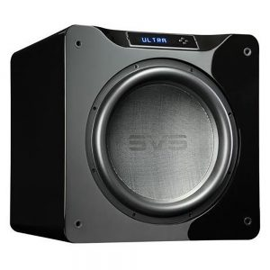 SVS SB16-Ultra (Piano Black) - Angled