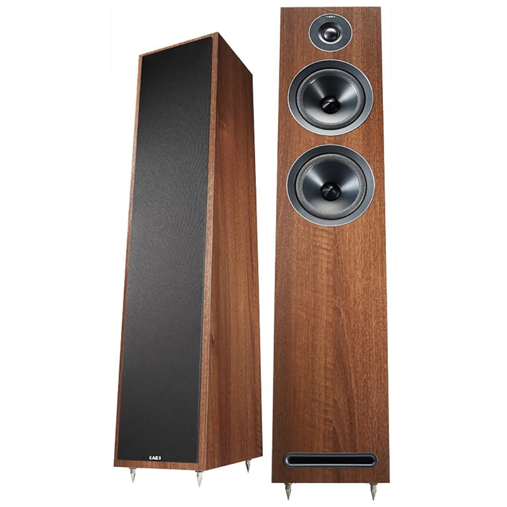 Acoustic Energy AE103 (Walnut) - Angled