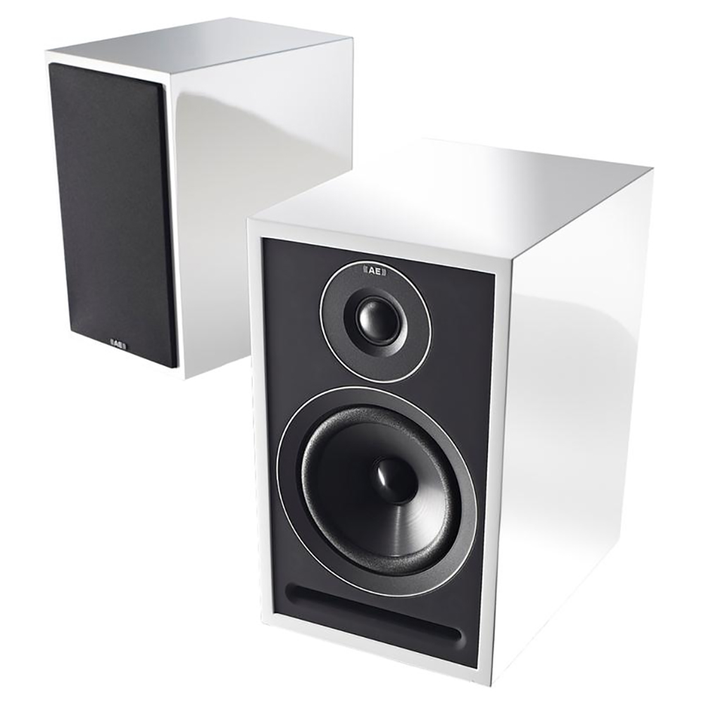 Acoustic Energy 301 Bookshelf Speakers Gloss White