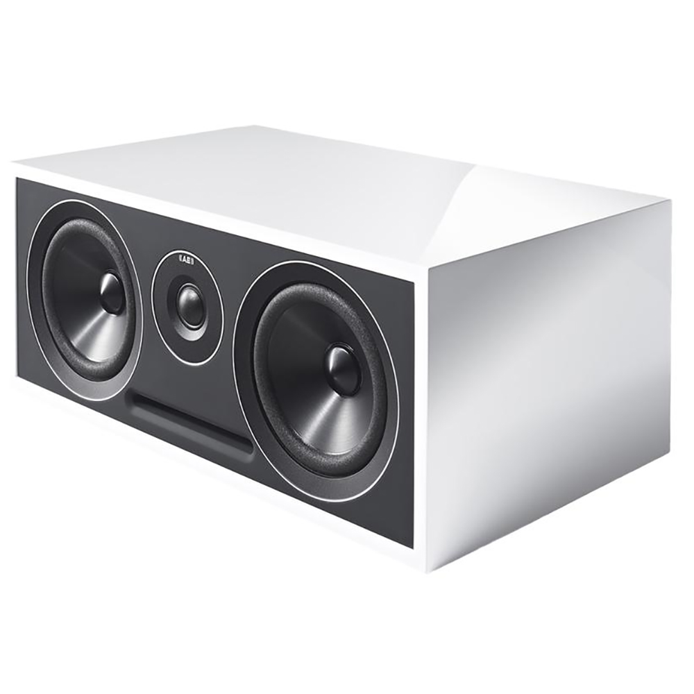 Acoustic Energy 307 (Gloss White) - Angled