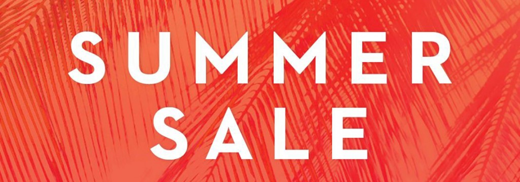 Summer Sale Banner - Main Home Page