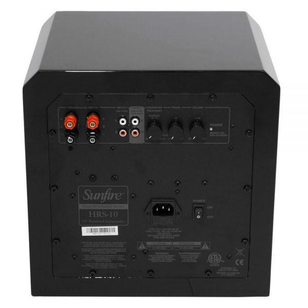 Sunfire HRS-10 - Back