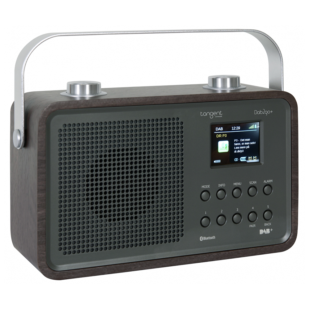 tangent dab2go portable bluetooth dab dab fm radio new. Black Bedroom Furniture Sets. Home Design Ideas