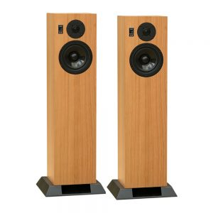 Graham Audio LS6f (Oak) - Angled