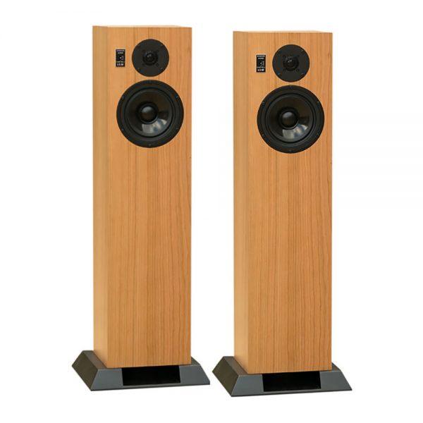 Graham Audio LS6f (Oak) - Angled