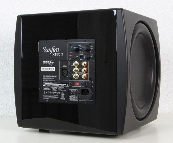 Sunfire XTEQ12 - Back