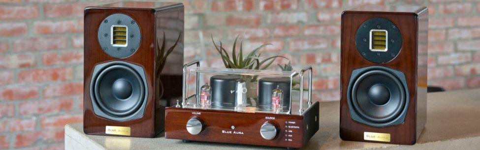 Blue Aura v40 Limited Edition#Integrated Valve Amplifier  (Bluetooth)/Speakers System
