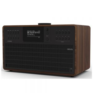 Revo SuperCD (Walnut & Black) - Angled