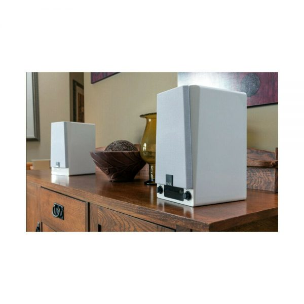 SVS Prime Wireless Speaker System (Gloss White) - Lifestyle 1