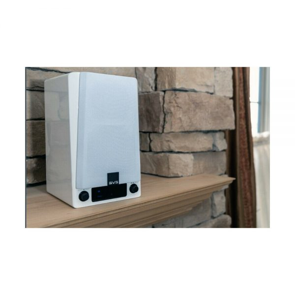 SVS Prime Wireless Speaker System (Gloss White) - Lifestyle 2