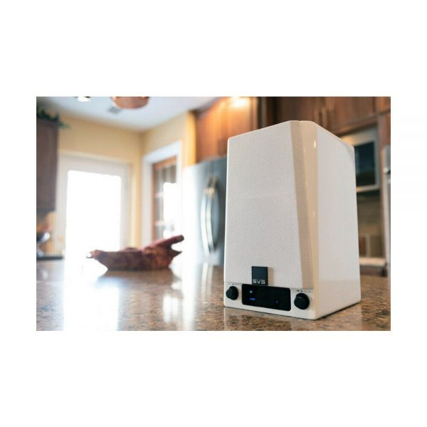 SVS Prime Wireless Speaker System (Gloss White) - Lifestyle 3